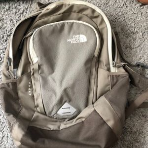 The North Face book bag